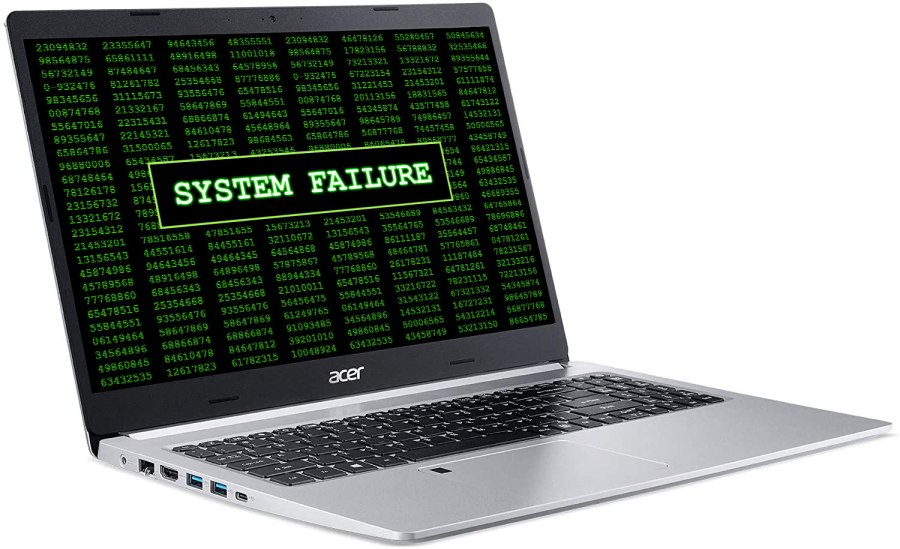 Acer Laptop System Failure Service Plano