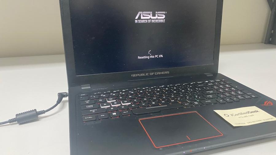 ASUS laptop repair service Plano texas