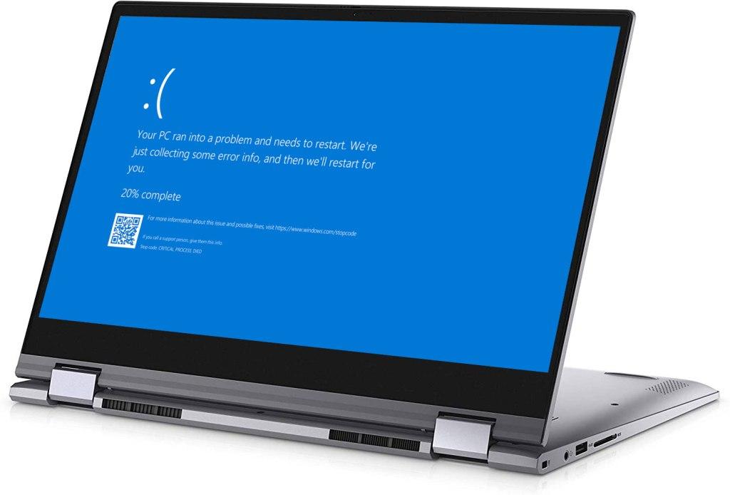 Dell Laptop blue Screen Repair Plano