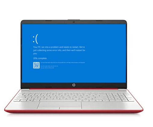 HP Laptop Blue Screen Error Repair Plano