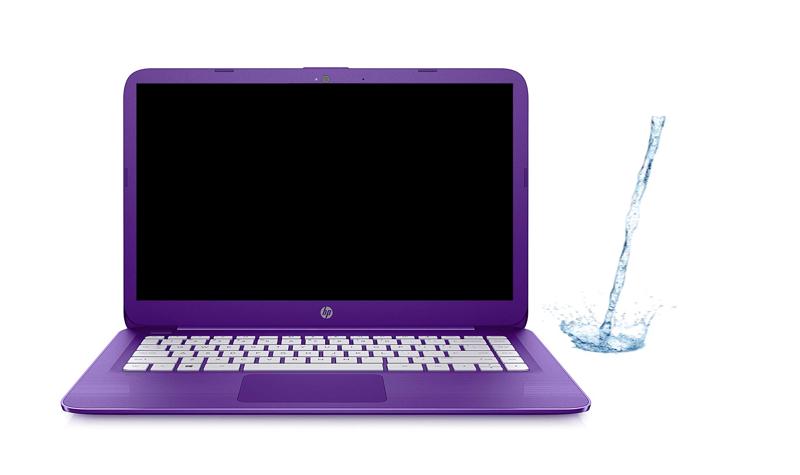 Liquid damage HP laptop repair Plano