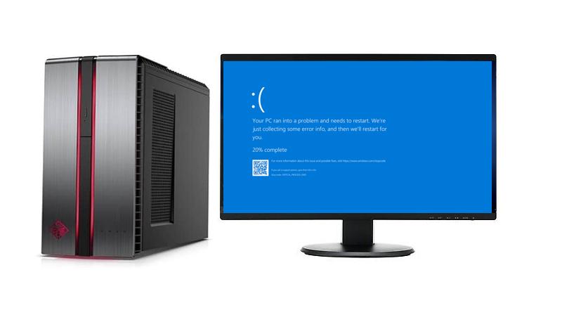 Gaming Computer Blue Screen Error Repair Plano