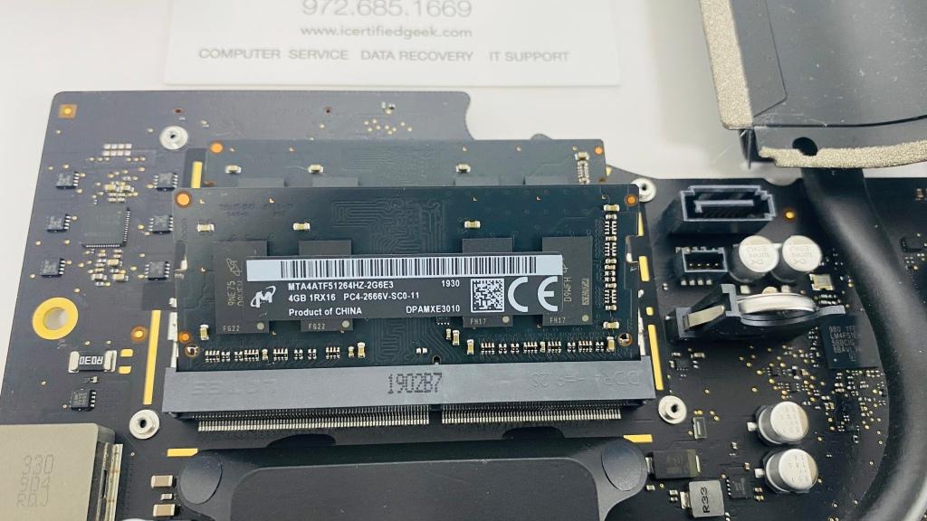 iMac RAM Upgrade Plano TX